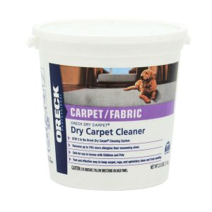 Dry Carpet Cleaning Powder - 4lbs