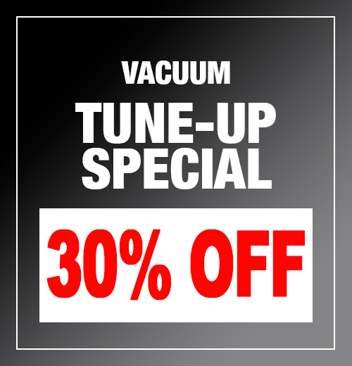 Chattanooga Vacuum Repair Tune-Up Special